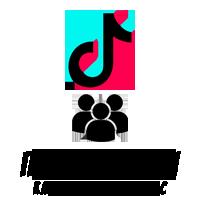 TIKTOK - Подписчики Реальные Зарубежные (45 руб. за 100 штук)